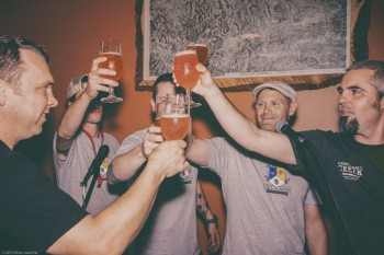 "Call to Arms Brewing Company's inaugural ""Peace & Assist"" event"